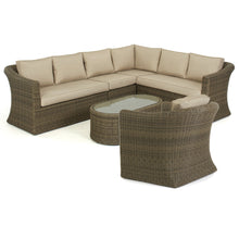 Rattan Winchester Large Corner Group with Chair