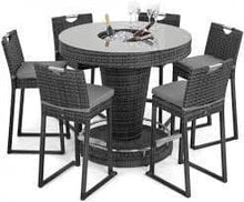 Maze Rattan 6 Seat Bar Set with Ice Bucket