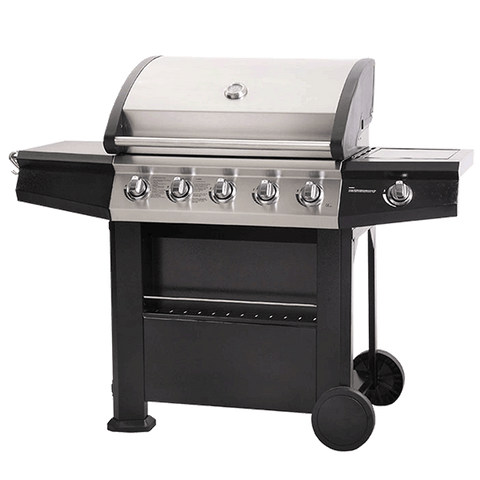 Dominica 5 + 1 Burner Gas BBQ with Side Burner