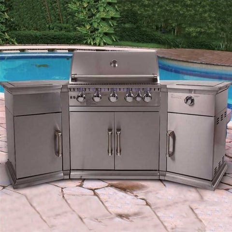 Bahama Island Gas Barbecue