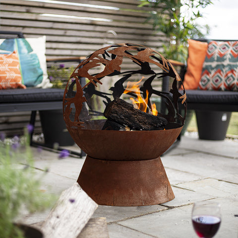 Swallows Fire Globe