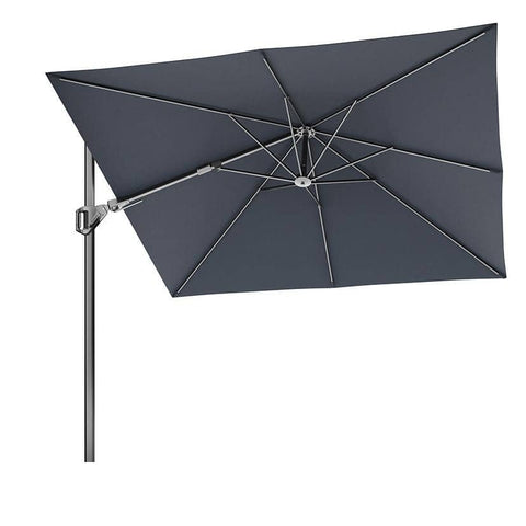 Voyager T2 2.7m Square Anthracite Parasol - Parasols - Pacific Lifestyle - Garden Furniture UK