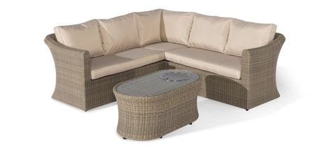 Winchester Small Corner Group - With Fire Pit Table