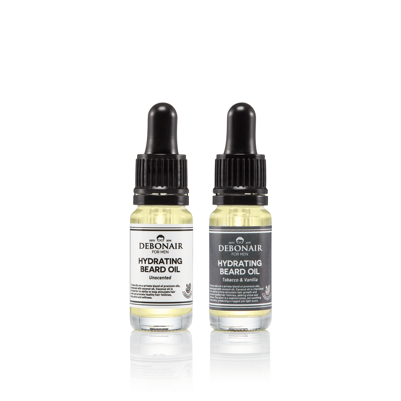 Pocket Beard Oil Duo - Debonair for Men