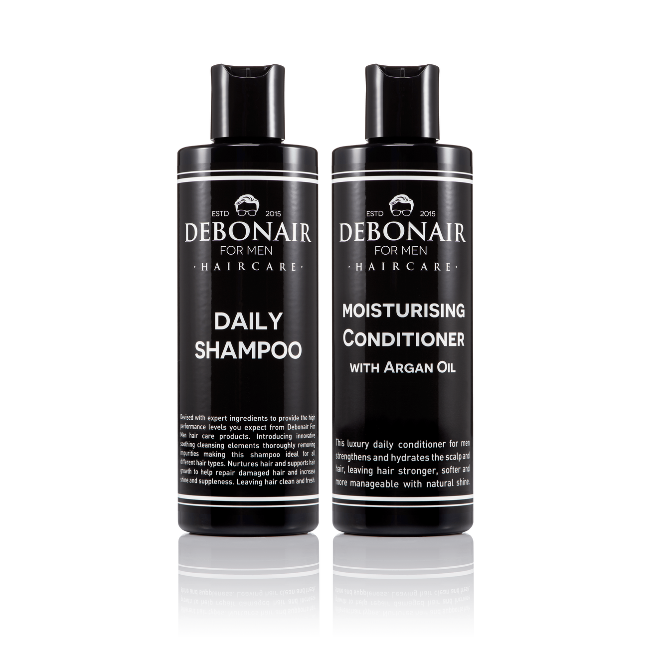 Daily Shampoo and Moisturising Conditioner - Debonair for Men