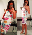 SALE £12.99 was £21.99 Floral Bodycon