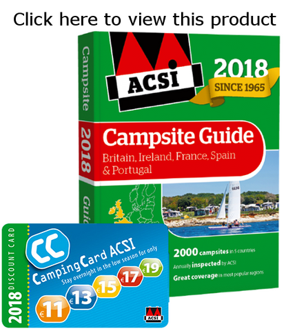 ACSI Campsite Guide Britain Ireland France Spain Portugal 2018