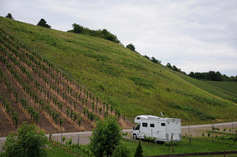 Winery Georg Fritz von Nell, Motorhome Stopover, Germany