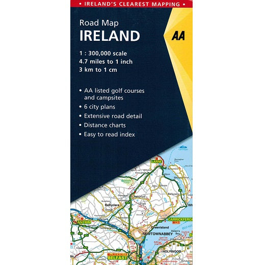AA Ireland Sheet Map 9780749578770