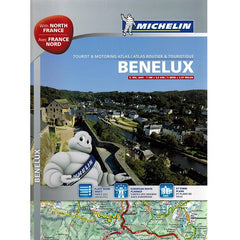 Michelin Benelux & Northern France Road Atlas IBSN:9782067192737 Atlas, Altases, Map, Mapping, Locator map