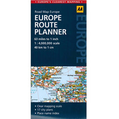 AA Europe Sheet Map 9780749575380 front cover