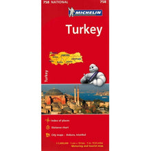 Load image into Gallery viewer, Michelin Turkey Sheet Map 758 9782067173187 front cover