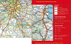 Map Of France With Key.2019 Michelin France Sheet Map 721