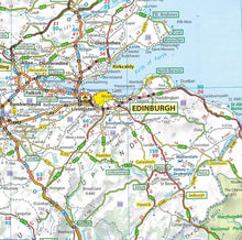 Load image into Gallery viewer, 2020 Michelin GB and Ireland Sheet Map 713 9782067244177 edinburgh map