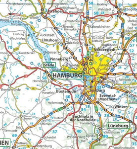 2020 Michelin Germany Sheet Map 718 2020 Michelin Germany Sheet Map 718 9782067244047 hamburg germany map
