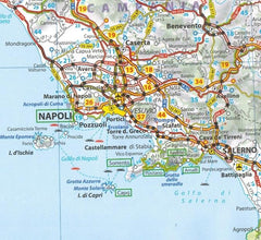 2020 Michelin Italy Sheet Map 735 2020 Michelin Italy Sheet Map 735 9782067244139 napoli pozzouli map