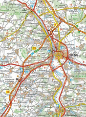 514 Paris & Surrounding Areas Michelin Regional Map 9782067135222 sens
