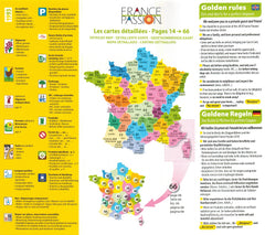 France Passion 2018 motorhome and campervan stopover scheme how to use