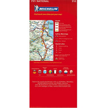 Load image into Gallery viewer, Michelin Scandinavia & Finland Sheet Map 711 9782067170537 back cover