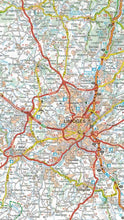 Load image into Gallery viewer, 522 Auvergne, Limousin Michelin Regional Map 9782067135307 limoges map