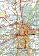 Load image into Gallery viewer, 518 Central France Michelin Regional Map 9782067135260 montargis