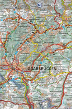 Load image into Gallery viewer, 516 Alsace Lorraine Michelin Regional Map 9782067135246 staarbrucken