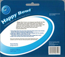 Load image into Gallery viewer, Happy Bowl Biodegradable RV Toilet Bowl Liners