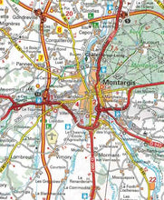 Load image into Gallery viewer, 518 Central France Michelin Regional Map 9782067135260 orleans