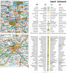 AA Europe Sheet Map 9780749575380 key and map