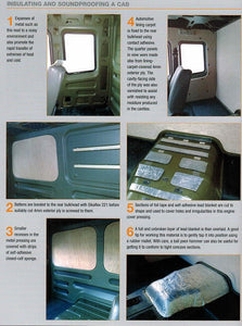 Haynes Build Your Own Overland Camper IBSN:9781785210761 insulating and sound proofing a cab