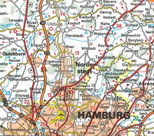 Load image into Gallery viewer, 541 Germany Northwest Michelin Regional Map 9782067183544 hamburg