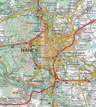 Load image into Gallery viewer, 516 Alsace Lorraine Michelin Regional Map 9782067135246 nancy