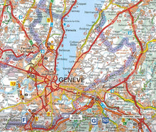 Load image into Gallery viewer, 520 Franche-Comte Michelin Regional Map 9782067135284 geneve