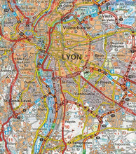 Load image into Gallery viewer, 523 Rhone-Alps Michelin Regional Map 9782067135314 lyon