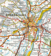 Load image into Gallery viewer, 545 Germany Southwest Michelin Regional Map 9782067183667 strasbourg