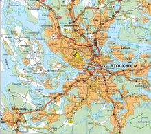 Load image into Gallery viewer, Michelin Scandinavia & Finland Sheet Map 711 9782067170537 stockholm