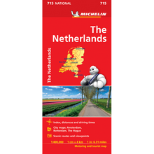 Load image into Gallery viewer, Michelin The Netherlands Sheet Map 715