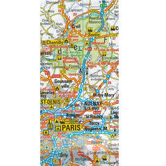 AA France & Benelux Sheet map 9780749579159 paris map