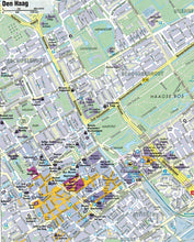 Load image into Gallery viewer, AA France & Benelux Sheet map 9780749579159  dan kaag town city map