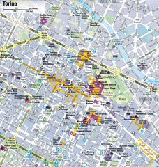 AA Italy Sheet Map 9780749579173 torino city map