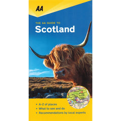 AA Guide to Scotland 9780749579463 front cover