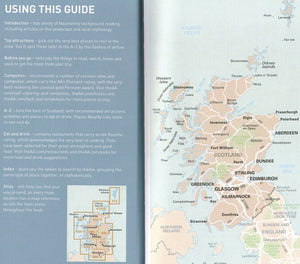 AA Guide to Scotland 9780749579463 how to use this guide