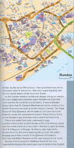 AA Guide to Scotland 9780749579463 dundee map