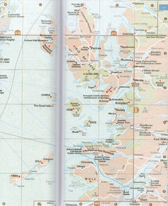 AA Guide to Scotland 9780749579463 map