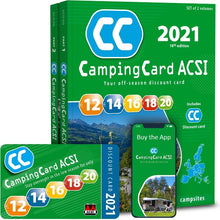 Load image into Gallery viewer, ACSI CampingCard 2021 Vicarious Books