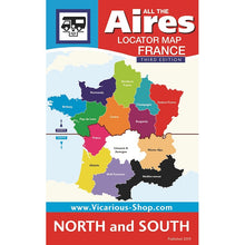 Load image into Gallery viewer, All the Aires France North 3rd Edition IBSN:9781910664148 Motorhome Guidebook, Motorhoming, Aires, Stopovers, Caravan, Caravanning