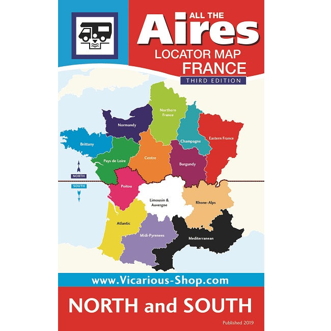 Map South Of France.French Aires Map For All The Aires France 3rd Edition