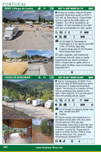 Load image into Gallery viewer, All The Aires Spain and Portugal 2017/18 5th edition guide book IBSN:9781910664124 Motorhome Guidebook, Motorhoming, Aires, Stopovers, Caravan, Caravanning