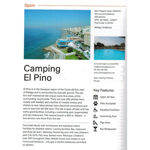 2020 Alan Rogers Camping Europe 52nd Edition 9781909057944 spain entry camping el pino