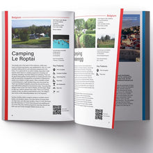 Load image into Gallery viewer, 2020 Alan Rogers Camping Europe 52nd Edition 9781909057944 entry preview